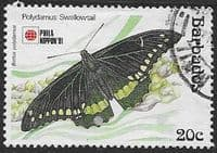 Barbados 1991  Phila Nippon 91 Butterflies SG 960 Fine Used