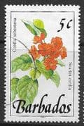 Barbados 1991  Wild Plants SG 891 Fine Used