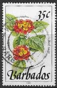 Barbados 1991  Wild Plants SG 895a Fine Used