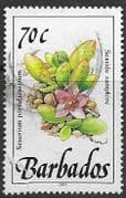 Barbados 1991  Wild Plants SG 900 Fine Used