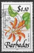 Barbados 1991  Wild Plants SG 902 Fine Used