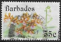Barbados 1992 Orchids SG 979 Fine Used