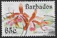 Barbados 1992 Orchids SG 980 Fine Used