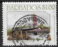 Barbados 1993 English Cannon SG 1002 Fine Used