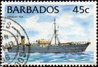Barbados 1994 Ships SG 1034A Fine Used