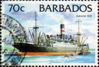 Barbados 1994 Ships SG 1038 Fine Used
