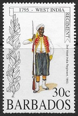 Barbados 1995 Formation of West India Regiment SG 1043 Fine Used