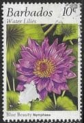 Barbados 1995 Water Lilies SG 1062 Fine Used
