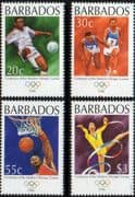 Barbados 1996 Modern Olympic Games Set Fine Mint