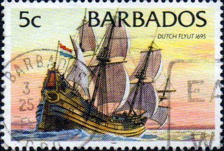 Barbados 1985 Fish SG 805B Fine Used Scott 654 West Indian Stamps