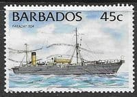 Barbados 1996 Ships SG 1081 Fine Used