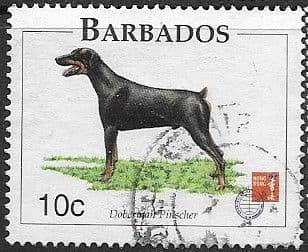 Barbados 1997 Dogs SG 1101 Fine Used