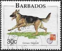 Barbados 1997 Dogs SG 1102 Fine Used