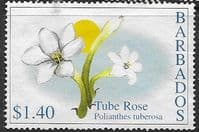 Barbados 2002 Flowers SG 1213 Fine Used