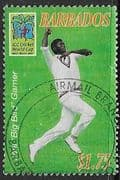 Barbados 2007 World Cup Cricket SG 1306 Fine Used