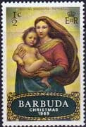 Barbuda 1969 Christms SG 38 Fine Mint