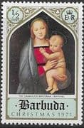 Barbuda 1971 Christmas SG 98 Fine Mint