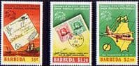 Barbuda 1974 Universal Posal Union Set Fine Mint