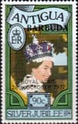 Barbuda 1977 Royal Visit SG 352 Fine Mint
