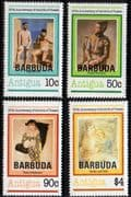 Barbuda 1981 Picasso Set Fine Mint