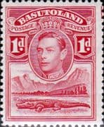 Basutoland 1938 SG  19 King George VI and Crocodile Fine Mint
