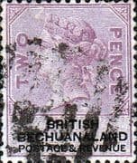 Bechuanaland 1877 Queen Victoria SG 12a Fine Used