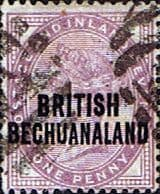 Bechuanaland 1891 Queen Victoria SG 33 Fine Used