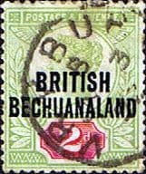 Bechuanaland 1891 Queen Victoria SG 34 Fine Used
