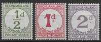 Bechuanaland 1932 Postage Due Stamp Set Fine Mint