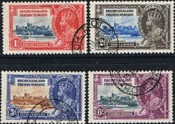 Bechuanaland Stamps 1935 King George V Silver Jubilee Fine Used