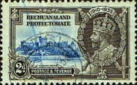 Bechuanaland 1935 King George V Silver Jubilee SG 112 Fine Used