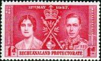 Bechuanaland 1937 King George VI Coronation SG 115 Fine Mint