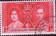 Bechuanaland 1937 King George VI Coronation SG 115 Fine Used