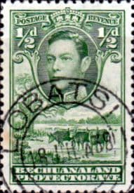 Bechuanaland 1938 SG 118 Kings Head Fine Used