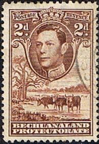 Bechuanaland 1938 SG 121 Kings Head Fine Used