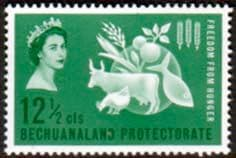 Stamps Stamp Bechuanaland 1963 Freedom From Hunger Fine Mint