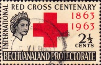Bechuanaland 1963 Red Cross SG 183 Fine Used