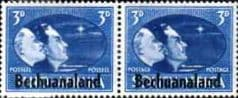 Postage Stamps Bechuanaland 1938 SG 124a Kings Head Fine Used Scott 130