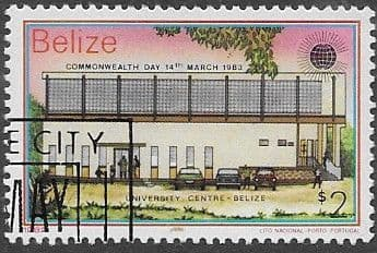 Postage Stamps Belize 1983 Manned Flight Set Fine Mint