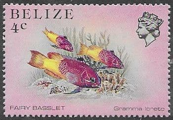Belize 1984 Marine Life from Coral Reef SG 769 Fine Mint