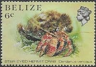 Belize 1984 Marine Life from Coral Reef SG 772a Fine Mint