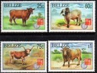 Belize 1997 Hong Kong Stampex Set Fine Mint