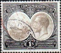 Bermuda 1920 King George V Institutions Tercentenary SG 64 Fine Used