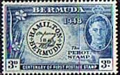 Bermuda 1949 The Perot Stamp SG 128 Fine Mint