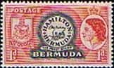 Bermuda 1953 Queen Elizabeth SG 136 The Perot Stamp Fine Mint