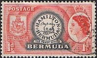Bermuda 1953 Queen Elizabeth SG 136 The Perot Stamp Fine Used