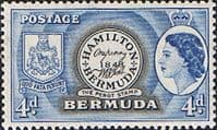 Bermuda 1953 Queen Elizabeth SG 141 The Perot Stamp Fine Mint