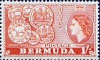 Bermuda 1953 Queen Elizabeth SG 144 Early Bermuda Coins Fine Mint