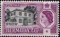 Bermuda 1958 Perots Post Office SG156  Fine Mint
