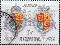 Bermuda 1959 350th Anniv of Settlement SG 158 Fine Used